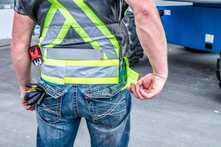 bottom reflective belt adjustment