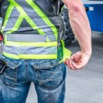 bottom reflective belt adjustment
